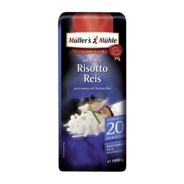 Müllers Mühle Arborio Risotto Reis