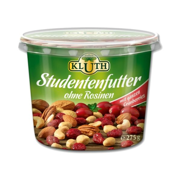 Kluth Studentenfutter ohne Rosinen 115g