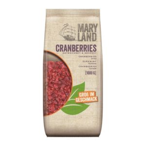 Maryland Cranberries 1000 1 Kg