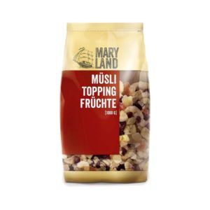 Maryland Müsli Topping Früchte 1kg